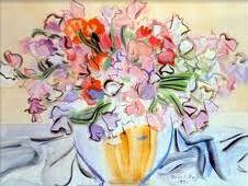Fleurige bloemen van Raoul Duffy