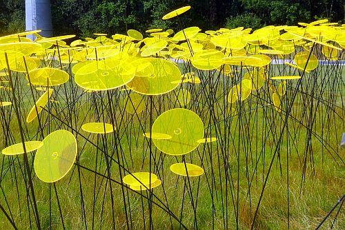Veldje kunstbloemen is voor mij kunst in Floriade 2012