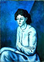 picasso blauwe periode