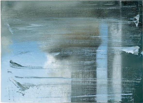 Vage weerspiegelingen, Gerhard Richter. foto internet.