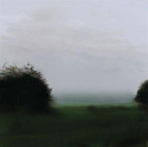 Twee bomen, geschilderd door Gerhard Richter, foto internet.