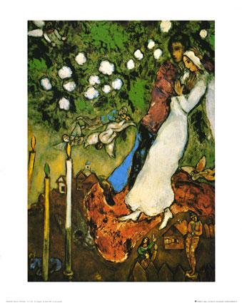 Marc Chagall, three candles.
