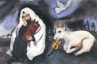 Schilderij van Marc Chagall