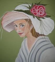 Meisje met hoed, bron internet.