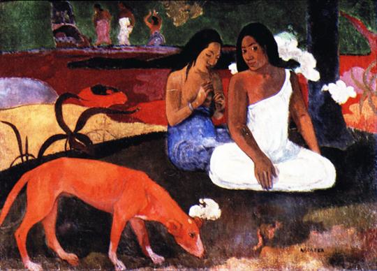 schilderij door Paul Gauguin