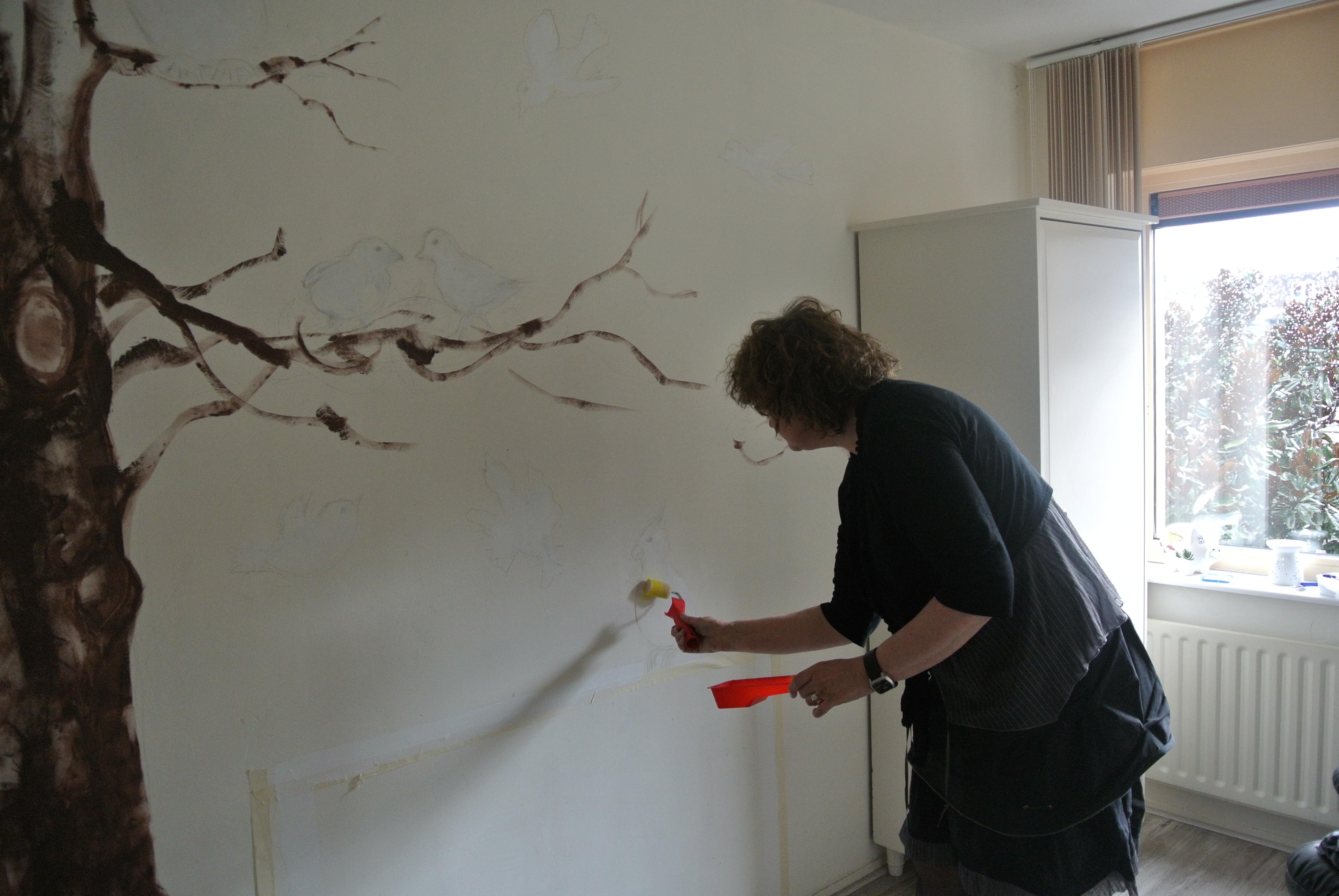 Nieuwe hobby muurschilderingen ipad kunst kan jou gelukkig maken - Nieuw muurschildering ...