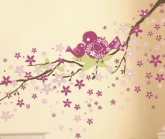 Inspiratie voor een muurschildering voor een baby-kamer