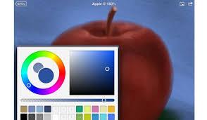 brushes voorbeeld appel