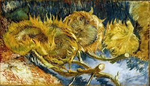 Vergane glorie, zonnebloem Van Gogh