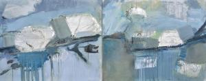 mixed texture, 200 x 80 cm, Rita Koolstra