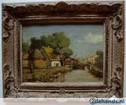 foto van oud schilderij